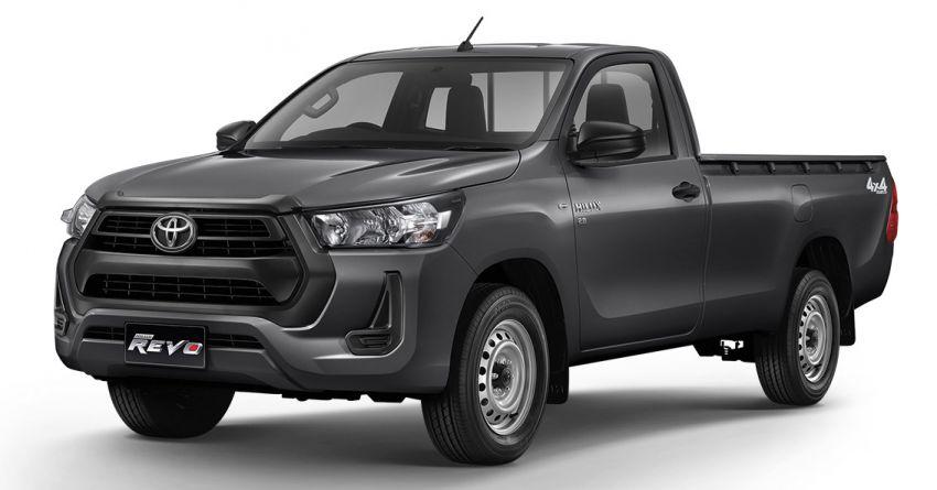 Toyota Hilux facelift didedahkan – rupa lebih garang, model 2.8L turbodiesel terima kuasa 204 hp/500 Nm Image #1127595