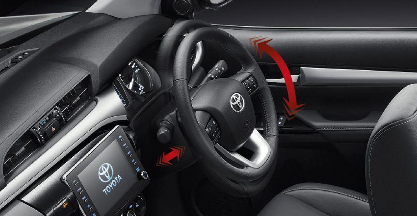 Toyota Hilux facelift didedahkan – rupa lebih garang, model 2.8L turbodiesel terima kuasa 204 hp/500 Nm Image #1127559