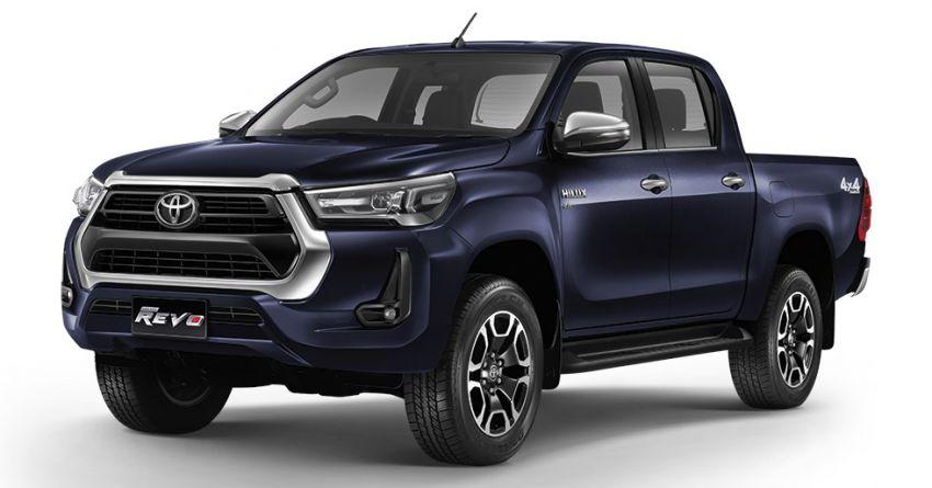 Toyota Hilux facelift didedahkan – rupa lebih garang, model 2.8L turbodiesel terima kuasa 204 hp/500 Nm Image #1127563