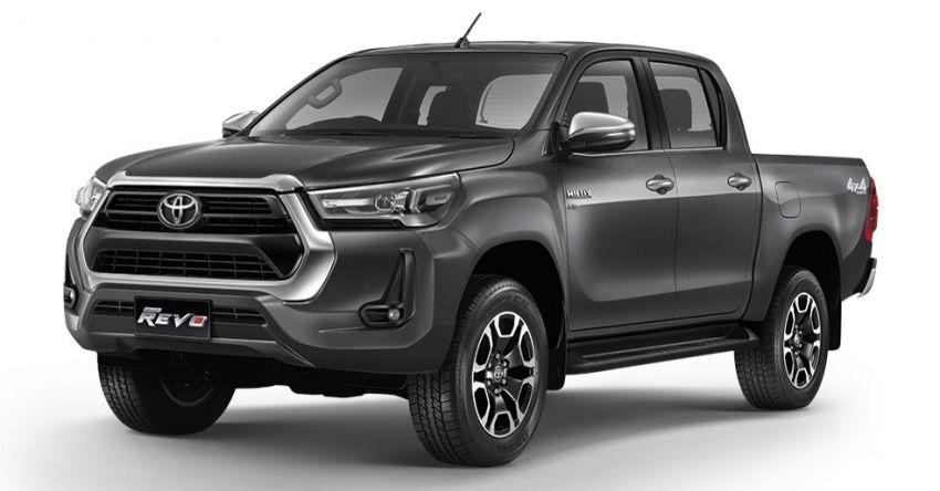 Toyota Hilux facelift didedahkan – rupa lebih garang, model 2.8L turbodiesel terima kuasa 204 hp/500 Nm Image #1127564
