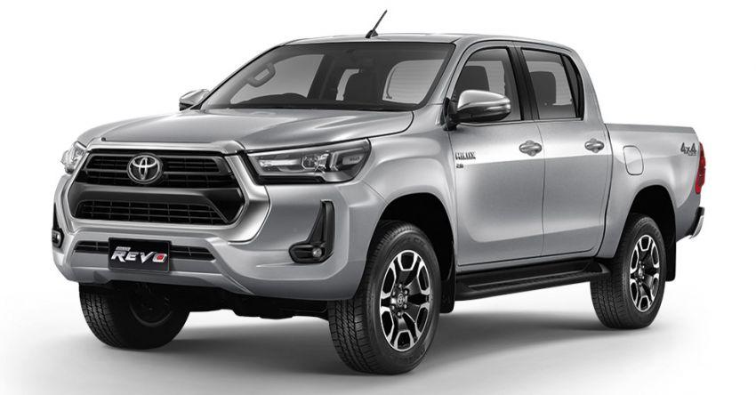 Toyota Hilux facelift didedahkan – rupa lebih garang, model 2.8L turbodiesel terima kuasa 204 hp/500 Nm Image #1127565