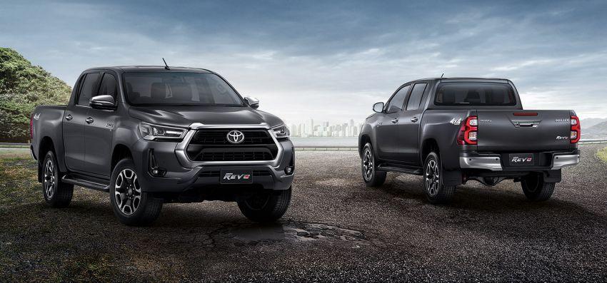 Toyota Hilux facelift didedahkan – rupa lebih garang, model 2.8L turbodiesel terima kuasa 204 hp/500 Nm Image #1127548