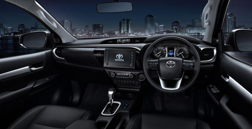 Toyota Hilux facelift didedahkan – rupa lebih garang, model 2.8L turbodiesel terima kuasa 204 hp/500 Nm Image #1127551