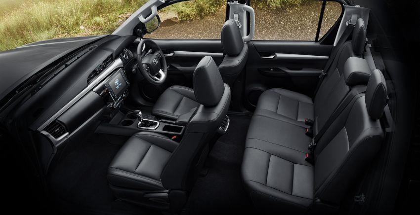 Toyota Hilux facelift didedahkan – rupa lebih garang, model 2.8L turbodiesel terima kuasa 204 hp/500 Nm Image #1127552