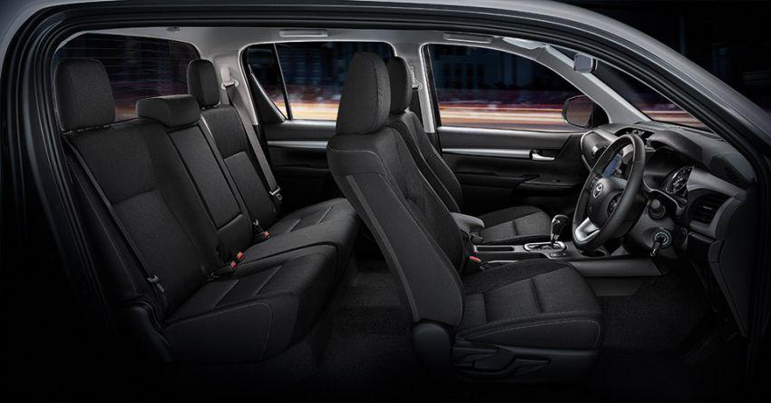 Toyota Hilux facelift didedahkan – rupa lebih garang, model 2.8L turbodiesel terima kuasa 204 hp/500 Nm Image #1127575