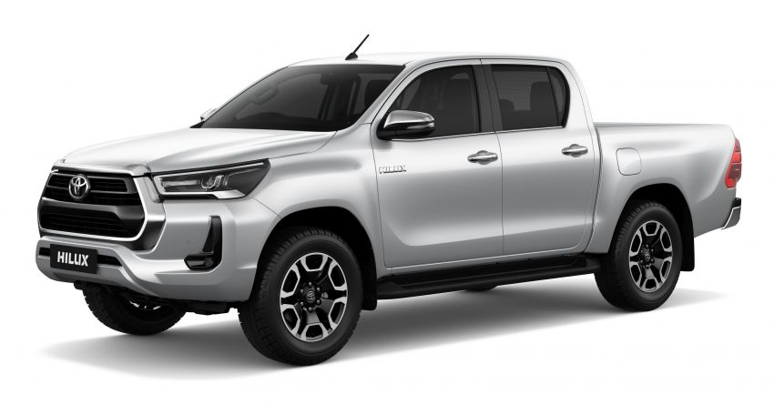 2020 Toyota Hilux facelift debuts with major styling changes – 2.8L turbodiesel now makes 204 PS, 500 Nm Image #1126424
