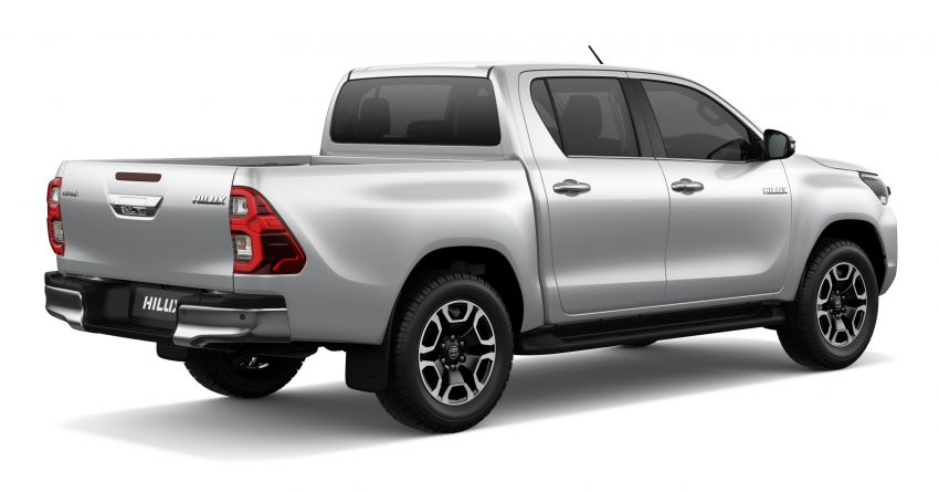 2020 Toyota Hilux facelift debuts with major styling changes – 2.8L turbodiesel now makes 204 PS, 500 Nm Image #1126425