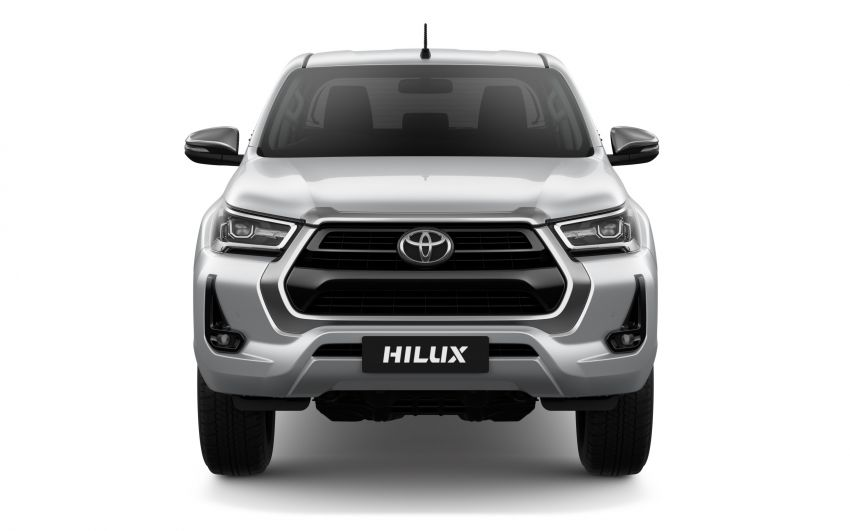 2020 Toyota Hilux facelift debuts with major styling changes – 2.8L turbodiesel now makes 204 PS, 500 Nm Image #1126426