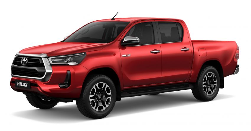 2020 Toyota Hilux facelift debuts with major styling changes – 2.8L turbodiesel now makes 204 PS, 500 Nm Image #1126428