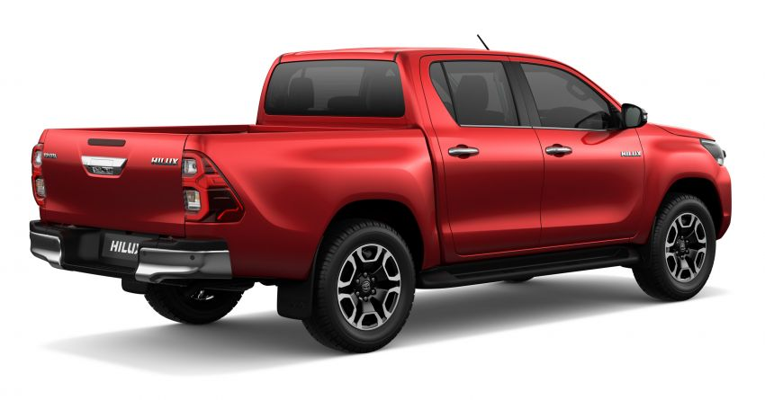 2020 Toyota Hilux facelift debuts with major styling changes – 2.8L turbodiesel now makes 204 PS, 500 Nm Image #1126429