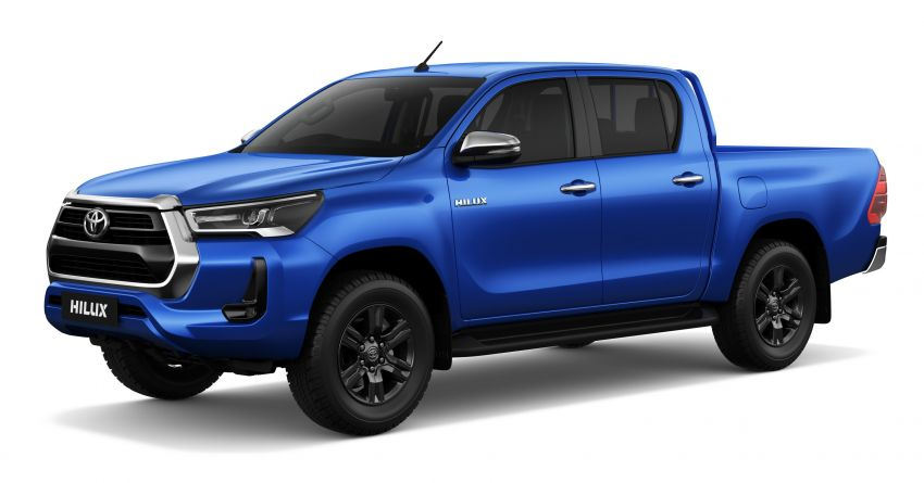 2020 Toyota Hilux facelift debuts with major styling changes – 2.8L turbodiesel now makes 204 PS, 500 Nm Image #1126432