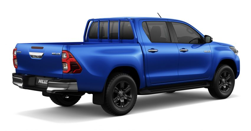2020 Toyota Hilux facelift debuts with major styling changes – 2.8L turbodiesel now makes 204 PS, 500 Nm Image #1126433