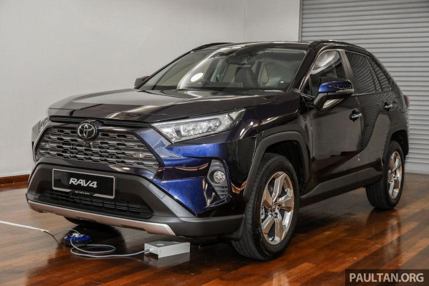 2020 Toyota RAV4 SUV launched in Malaysia – CBU Japan, 2.0L CVT RM196,500, 2.5L 8AT RM215,700 Image #1132002
