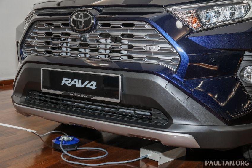 Toyota RAV4 2020 kini di M'sia — CBU Jepun, Toyota Safety Sense, 2.0L CVT RM197k, 2.5L 8AT RM216k Image #1132278