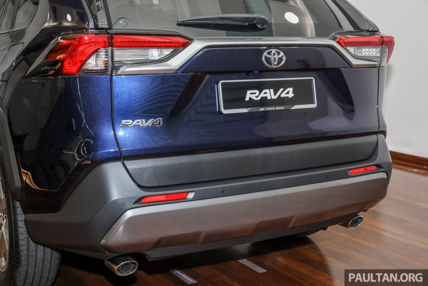 2020 Toyota RAV4 SUV launched in Malaysia – CBU Japan, 2.0L CVT RM196,500, 2.5L 8AT RM215,700 Image #1132020