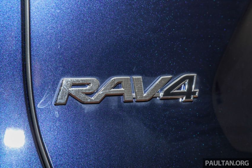 2020 Toyota RAV4 SUV launched in Malaysia – CBU Japan, 2.0L CVT RM196,500, 2.5L 8AT RM215,700 Image #1132027