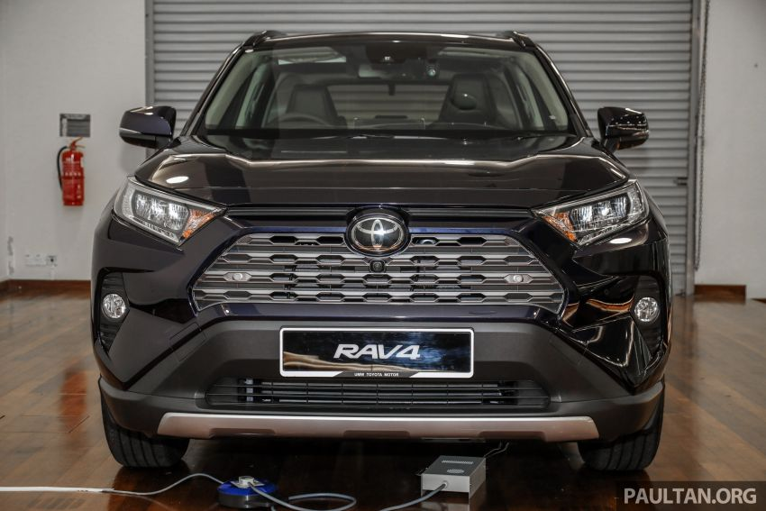 2020 Toyota RAV4 SUV launched in Malaysia – CBU Japan, 2.0L CVT RM196,500, 2.5L 8AT RM215,700 Image #1132005