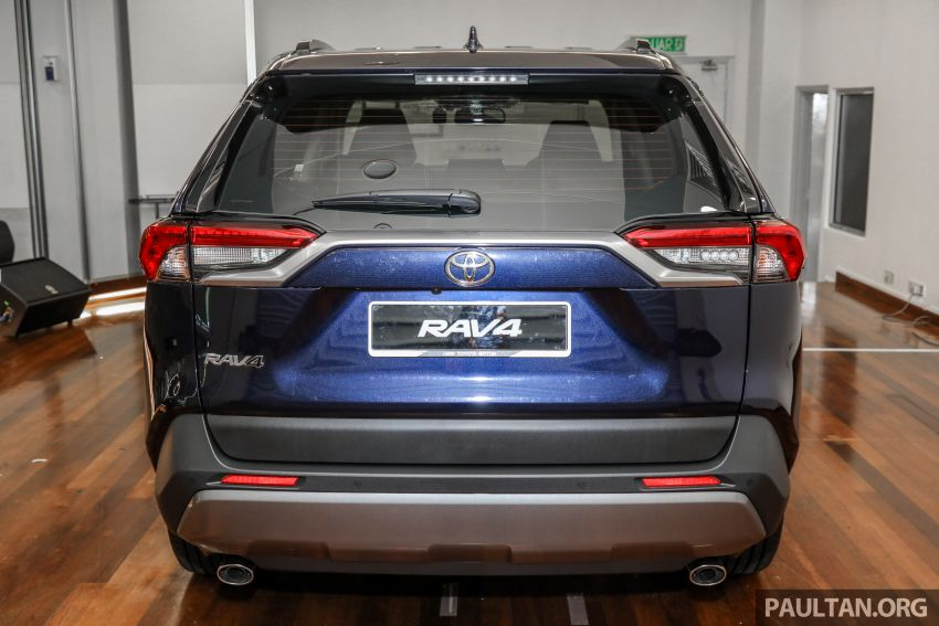 2020 Toyota RAV4 SUV launched in Malaysia – CBU Japan, 2.0L CVT RM196,500, 2.5L 8AT RM215,700 Image #1132006