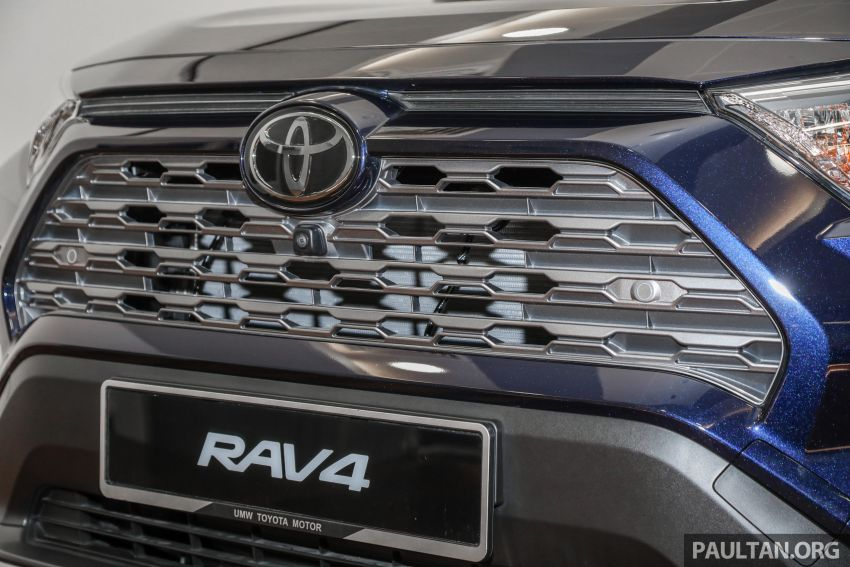 Toyota RAV4 2020 kini di M'sia — CBU Jepun, Toyota Safety Sense, 2.0L CVT RM197k, 2.5L 8AT RM216k Image #1132277