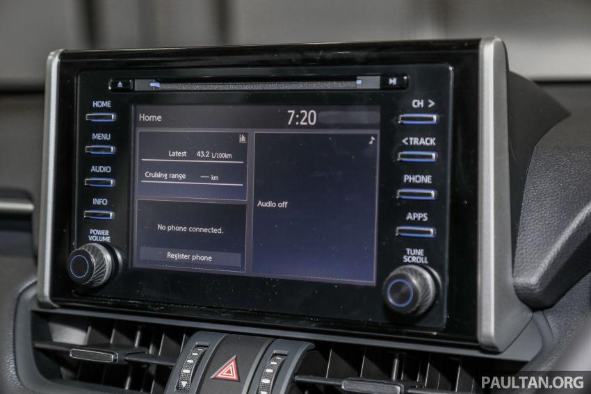 Toyota RAV4 2020 kini di M'sia — CBU Jepun, Toyota Safety Sense, 2.0L CVT RM197k, 2.5L 8AT RM216k Image #1132310