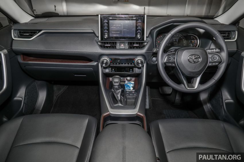 2020 Toyota RAV4 SUV launched in Malaysia – CBU Japan, 2.0L CVT RM196,500, 2.5L 8AT RM215,700 Image #1132031