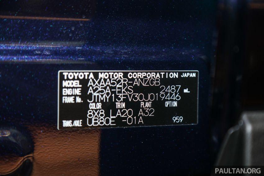 Toyota RAV4 2020 kini di M'sia — CBU Jepun, Toyota Safety Sense, 2.0L CVT RM197k, 2.5L 8AT RM216k Image #1132337