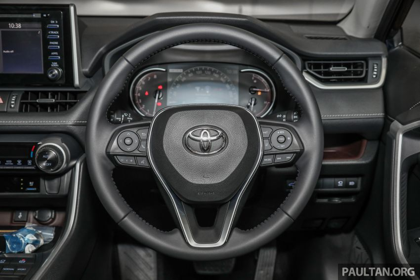 2020 Toyota RAV4 SUV launched in Malaysia – CBU Japan, 2.0L CVT RM196,500, 2.5L 8AT RM215,700 Image #1132035