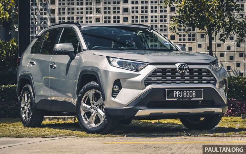 2020 Toyota RAV4 SUV launched in Malaysia – CBU Japan, 2.0L CVT RM196,500, 2.5L 8AT RM215,700 Image #1132246
