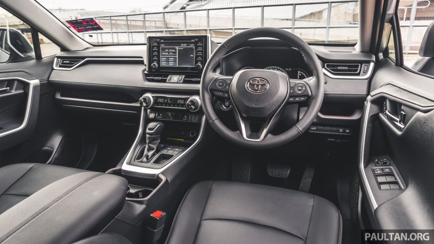 2020 Toyota RAV4 SUV launched in Malaysia – CBU Japan, 2.0L CVT RM196,500, 2.5L 8AT RM215,700 Image #1132255