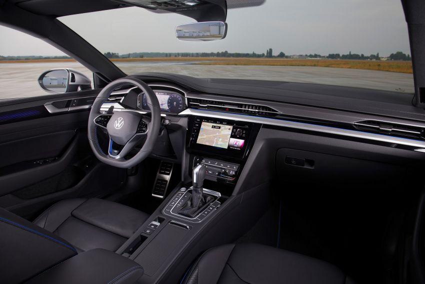 Volkswagen Arteon <em>facelift</em> 2020 diperkenal — varian PHEV dan 320 PS R baru serta model Shooting Brake Image #1135403