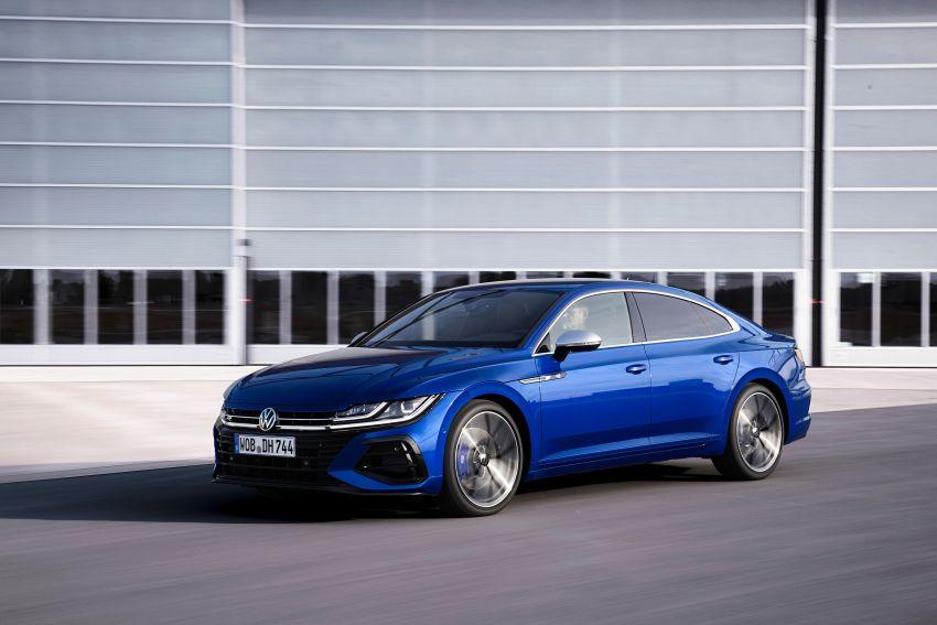 2020 Volkswagen Arteon facelift debuts – new PHEV and 320 PS R variants, Shooting Brake model added Image #1134925