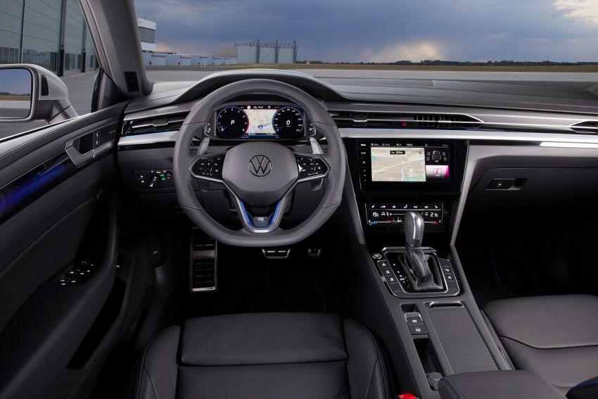 2020 Volkswagen Arteon facelift debuts – new PHEV and 320 PS R variants, Shooting Brake model added Image #1134930