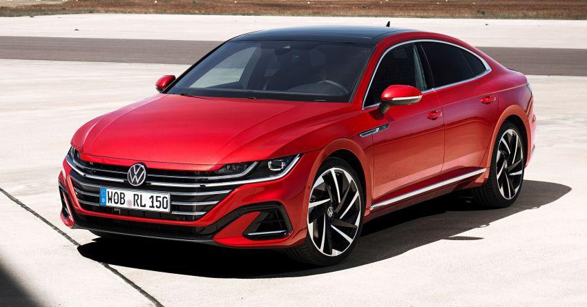Volkswagen Arteon <em>facelift</em> 2020 diperkenal — varian PHEV dan 320 PS R baru serta model Shooting Brake Image #1135415