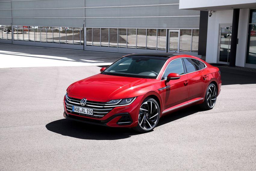 Volkswagen Arteon <em>facelift</em> 2020 diperkenal — varian PHEV dan 320 PS R baru serta model Shooting Brake Image #1135416