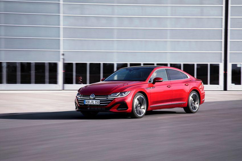 2020 Volkswagen Arteon facelift debuts – new PHEV and 320 PS R variants, Shooting Brake model added Image #1134949