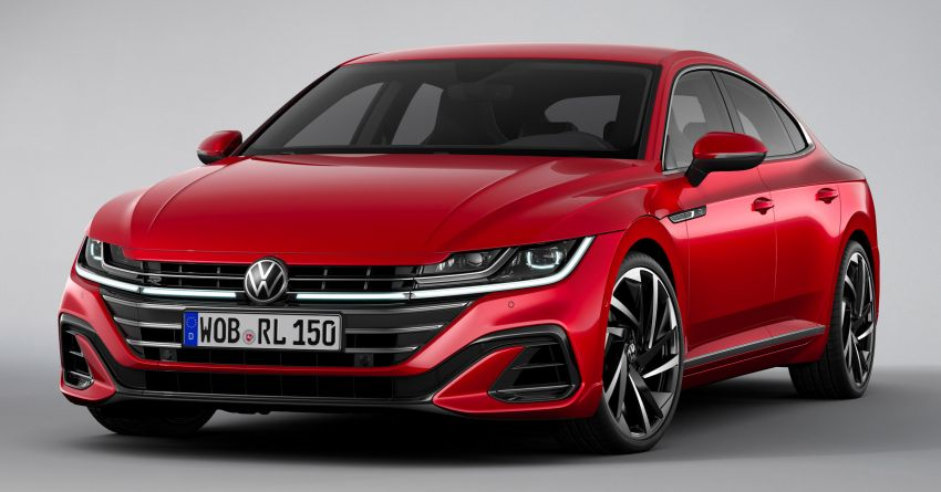 2020 Volkswagen Arteon facelift debuts – new PHEV and 320 PS R variants, Shooting Brake model added Image #1134956