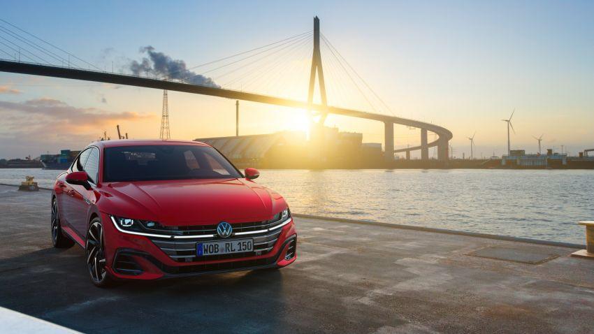 Volkswagen Arteon <em>facelift</em> 2020 diperkenal — varian PHEV dan 320 PS R baru serta model Shooting Brake Image #1135406