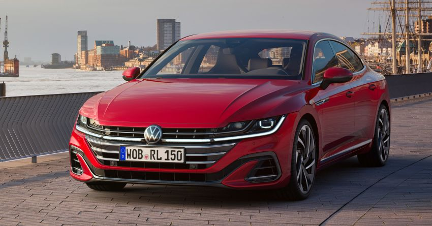 2020 Volkswagen Arteon facelift debuts – new PHEV and 320 PS R variants, Shooting Brake model added Image #1134939
