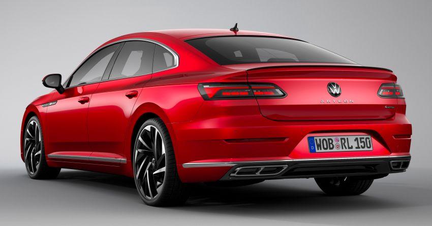 2020 Volkswagen Arteon facelift debuts – new PHEV and 320 PS R variants, Shooting Brake model added Image #1134957