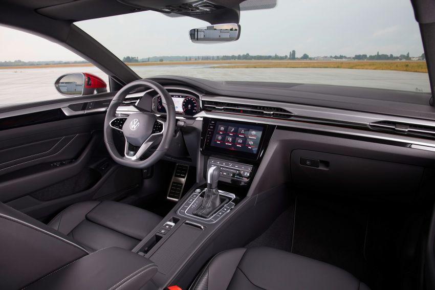 Volkswagen Arteon <em>facelift</em> 2020 diperkenal — varian PHEV dan 320 PS R baru serta model Shooting Brake Image #1135439