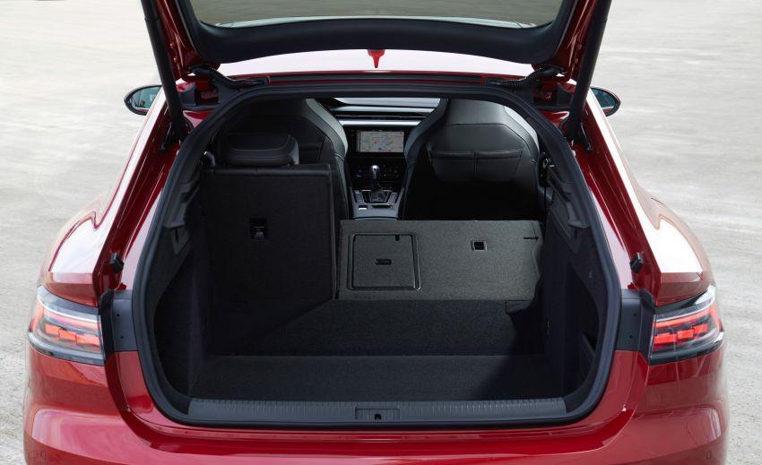 Volkswagen Arteon <em>facelift</em> 2020 diperkenal — varian PHEV dan 320 PS R baru serta model Shooting Brake Image #1135443