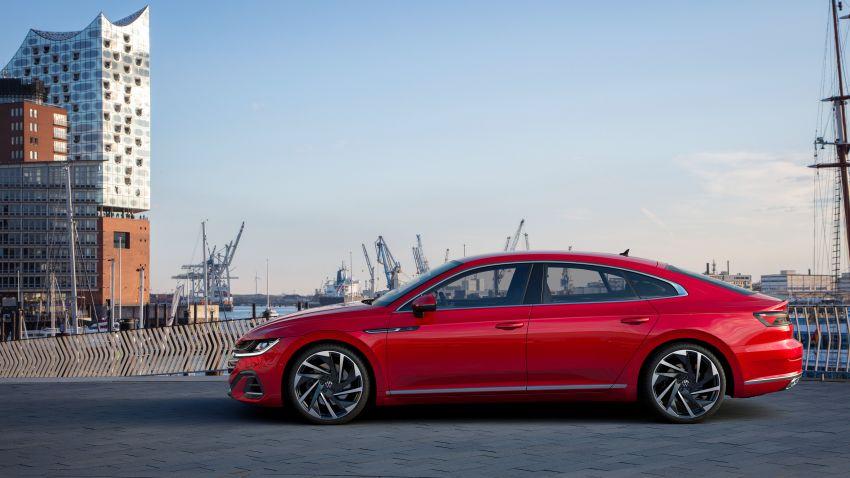 Volkswagen Arteon <em>facelift</em> 2020 diperkenal — varian PHEV dan 320 PS R baru serta model Shooting Brake Image #1135408
