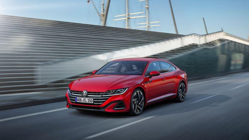 Volkswagen Arteon <em>facelift</em> 2020 diperkenal — varian PHEV dan 320 PS R baru serta model Shooting Brake Image #1135409