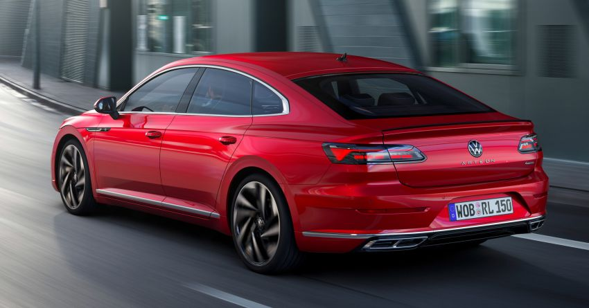 2020 Volkswagen Arteon facelift debuts – new PHEV and 320 PS R variants, Shooting Brake model added Image #1134942