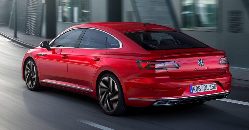 Volkswagen Arteon <em>facelift</em> 2020 diperkenal — varian PHEV dan 320 PS R baru serta model Shooting Brake Image #1135410