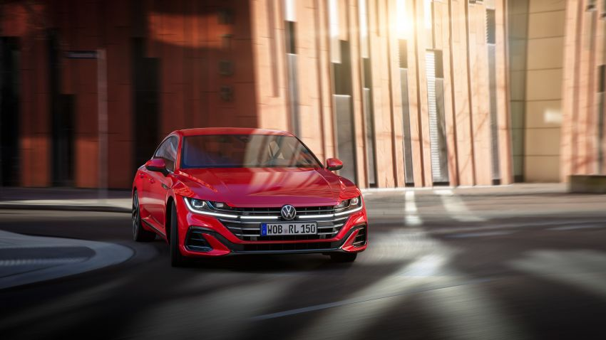 2020 Volkswagen Arteon facelift debuts – new PHEV and 320 PS R variants, Shooting Brake model added Image #1134943