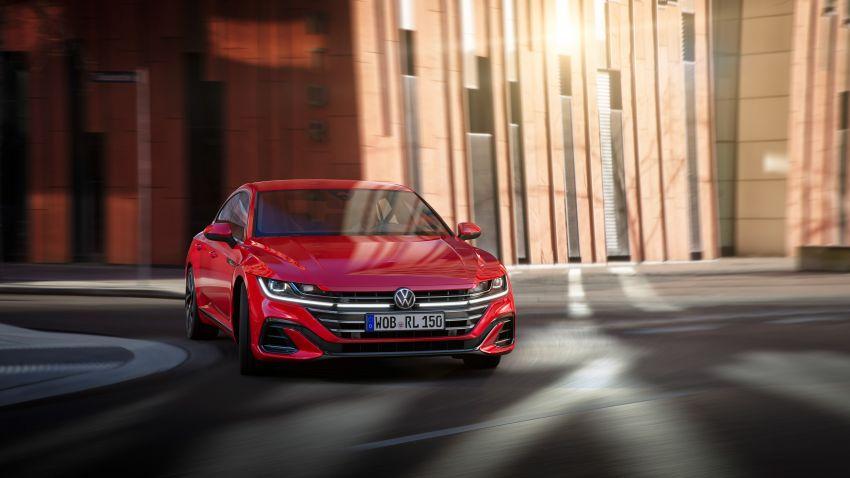 2020 Volkswagen Arteon facelift debuts – new PHEV and 320 PS R variants, Shooting Brake model added Image #1134943