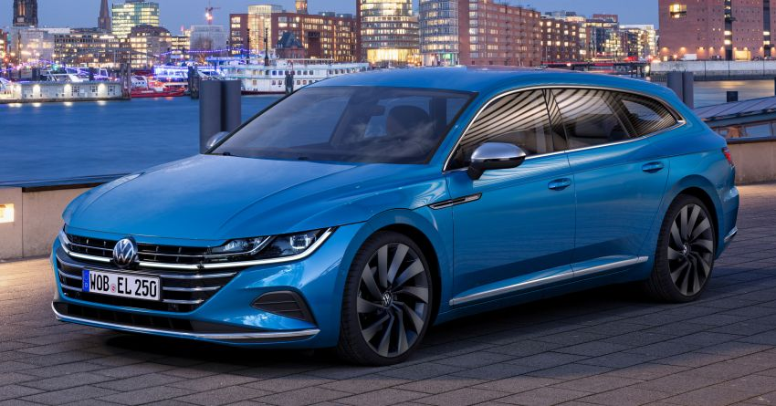 2020 Volkswagen Arteon facelift debuts – new PHEV and 320 PS R variants, Shooting Brake model added Image #1135089