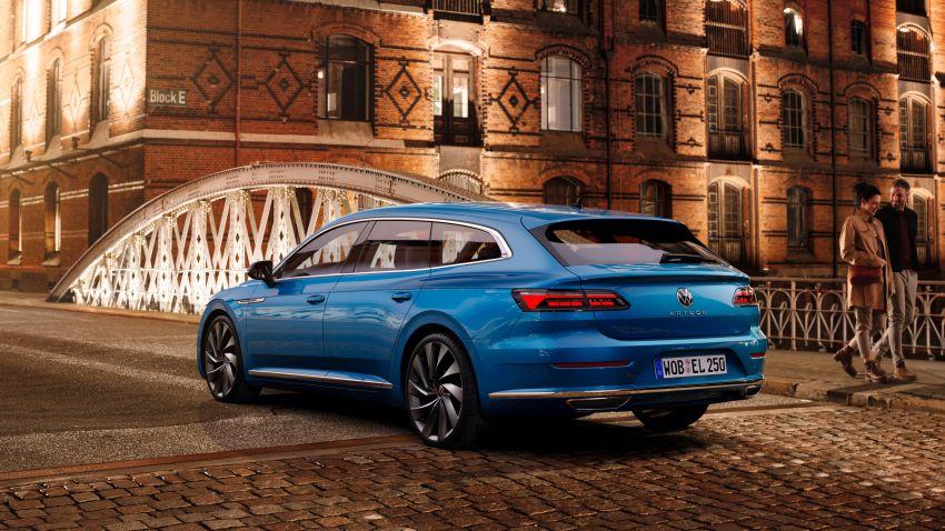2020 Volkswagen Arteon facelift debuts – new PHEV and 320 PS R variants, Shooting Brake model added Image #1135112