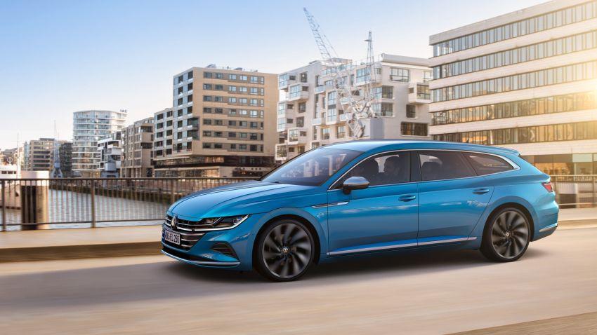 2020 Volkswagen Arteon facelift debuts – new PHEV and 320 PS R variants, Shooting Brake model added Image #1135114